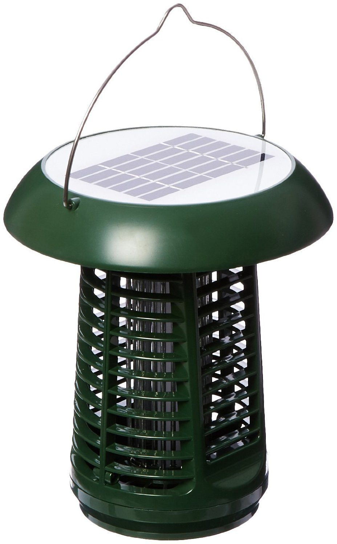 NK63 Solar-Powered UV Bug Zapper