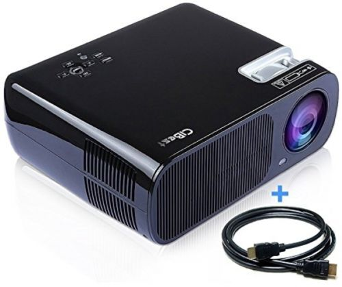 CiBest Video Projector 2600 Lumens Portable Big Screen LCD