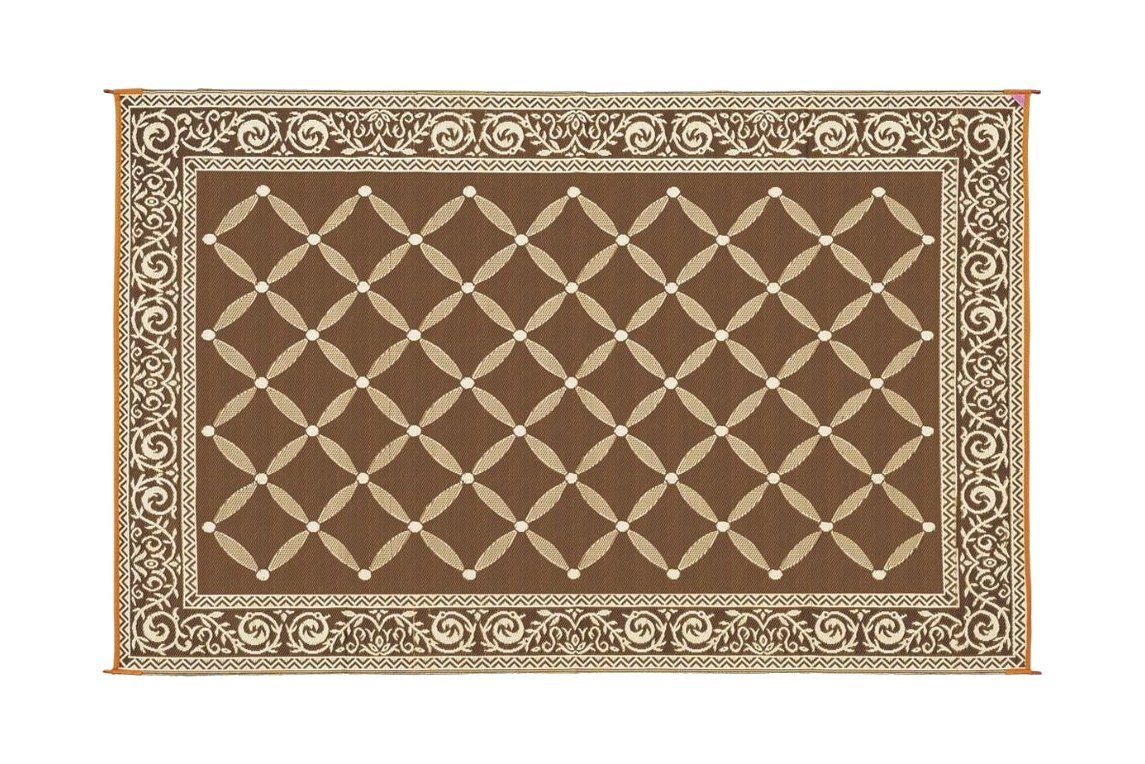 Best Brown & Beige Patio Mat from Reversible Mats