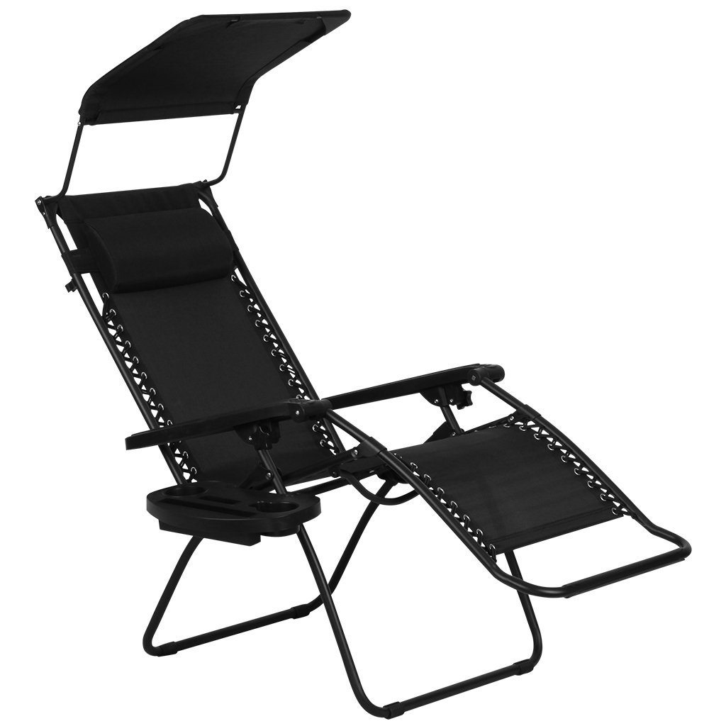 Best ZERO GRAVITY CANOPY SUNSHADE LOUNGE CHAIR