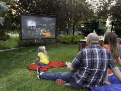 Camp Chef – Portable Outdoor Projector Screen