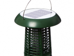 NK63 Solar-Powered UV Bug Zapper, Insect Killer & LED Garden Lamp Included UL Adapter