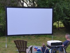 Visual Apex Portable Movie Screen
