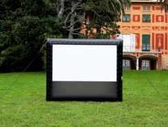 How To Blow Up And Inflate an Outdoor Theater Screen